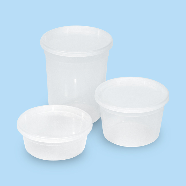 Plastic Containers Pack Edge